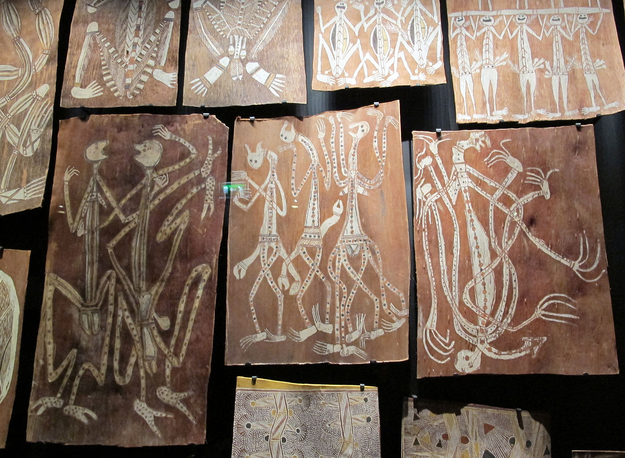 File australia arte aborigena xx sec 03 jpg wikimedia for Arte aborigena