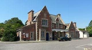 Axminster railway station