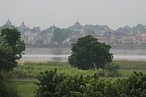 Demolition of the Babri Masjid - Ayodhya city