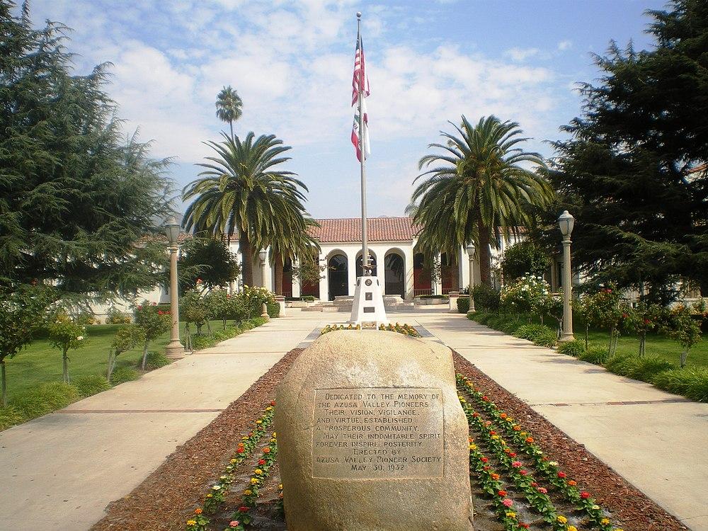 The population density of Azusa in California is 1851.48 people per square kilometer (4794.31 / sq mi)