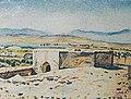 Bəhruz Kəngərli - Naxçıvanda Nuhun türbəsi, 1919.jpg