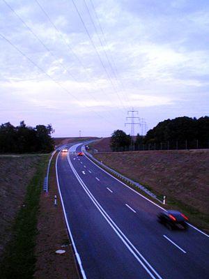 Bundesstraße 93 - Bypass around Gößnitz between Leipzig und Zwickau