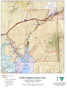 Map Of Arizona Blm Land.Bundy Standoff Wikipedia