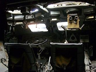 BTR-80 - BTR-80 interior