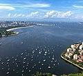 Baía de Guanabara vista do Pão de Açúcar 2020.jpg