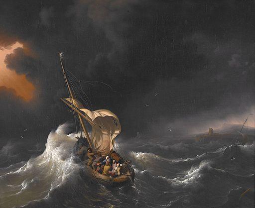 Backhuysen, Ludolf - Christ in the Storm on the Sea of Galilee - 1695