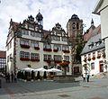 Bad Hersfeld - Rathaus ab 1371, ab 1607 im Stil der Weserrenaissance umgebaut.JPG