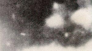 "Badge Man - Jack White's enlargement of the alleged ""Badge Man"" area"