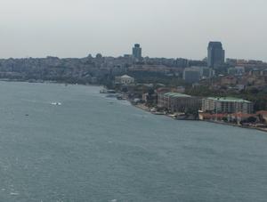 Bahçeşehir University - Image: Bahcesehir University (as seen from the bridge)