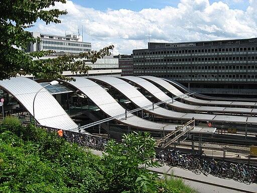 Bahnhof Bern - Welle von Bern