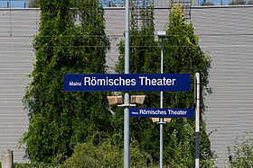 Gare Mainz Römisches Theater