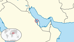 Bahrain in its region.svg