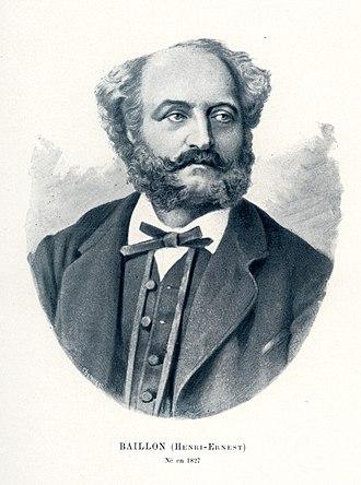 Henri Ernest Baillon - Image: Baillon, Henri Ernest (1827 1895) CIPN21501