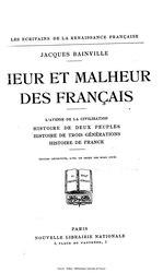 Heur et Malheur des Français