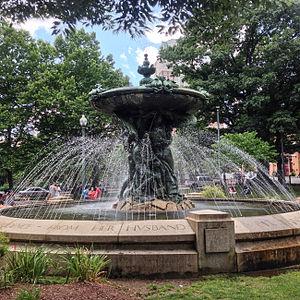 Burnside Park, Providence, Rhode Island - Bajnotti Fountain