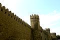 Baku city walls.JPG