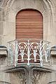 Balcon de la maison Weissenburger de style art nouveau (Nancy) (8032651387).jpg