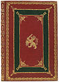 Band van rood marokijn en ingelegd groen marokijn-KONB12-137A8.jpeg