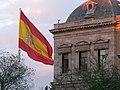 Bandera Nacional de España (Pl. Colón, Madrid) 03.jpg
