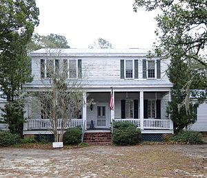 National Register of Historic Places listings in Barnwell County, South Carolina - Image: Banksia Hall