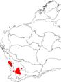 Banksia vestita map.png