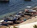 Barcas en el puerto, Alicudi, Islas Eolias, Sicilia, Italia, 2015.JPG