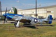 Barksdale Global Power Museum September 2015 06 (North American P-51D Mustang).jpg