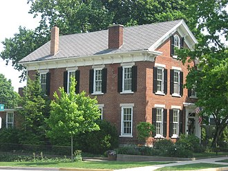 National Register of Historic Places listings in Carroll County, Indiana - Image: Barnett Seawright Wilson House