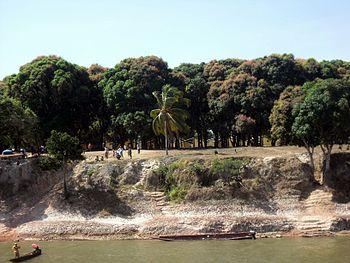 Barranco yopar Municipio Romulo Gallegos. Edo Apure
