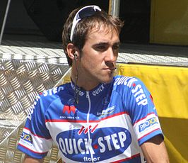 Carlos Barredo in de Tour de France 2010