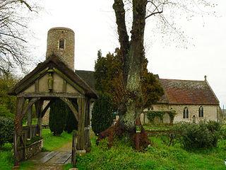 Barsham, Suffolk Human settlement in England