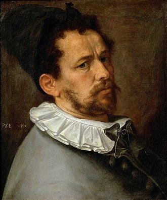 Bartholomeus Spranger - Self-portrait