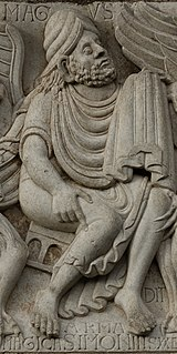 Simon Magus Religious figure who confronted Peter