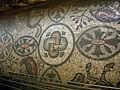 Basilica di aquilieia, museo e scavi , mosaici aula teodoriana 05.JPG