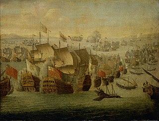 Battle of Málaga (1704) battle