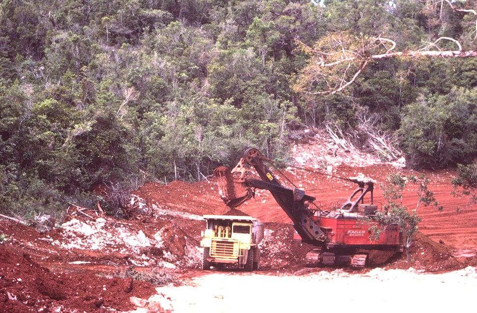 Bauxite Jamaica 1984