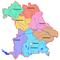 Административные округа (округа) Баварии