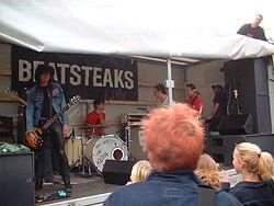 Beatsteaks Straßenkonzert in Berlin-Prenzlauer Berg 2002