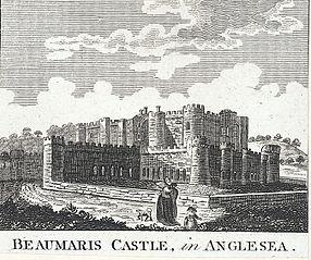 Beaumaris Castle, in Anglesea i.e. Anglesey