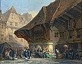 Beaux-Arts de Carcassonne - Le marché (1877) - Léonard Saurfelt.jpg