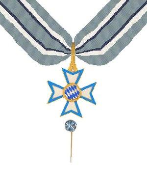 Bavarian Order of Merit - Image: Beierse Orde van Verdienste