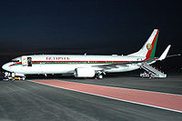 Belarus government Boeing 737-800BBJ.jpg