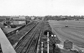 Belasis Lane railway station