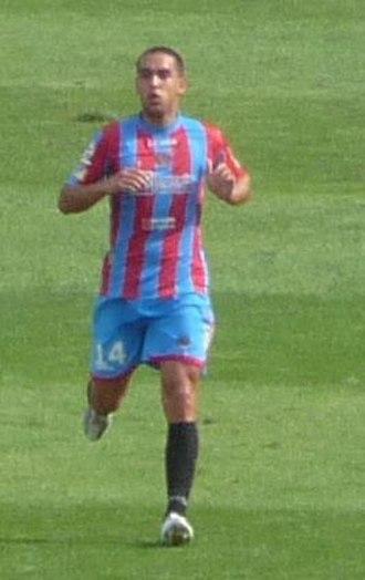 Giuseppe Bellusci - Bellusci with Catania in 2009