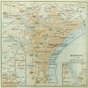 Benares (Baedeker, 1914)