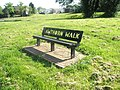 Bench that has lasted a while - geograph.org.uk - 797123.jpg