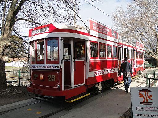 Bendigo tram 25