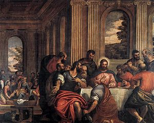 Benedetto Caliari - Last Supper - WGA03772.jpg