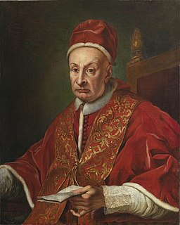 Pope Benedict XIII Head of the Catholic Church and ruler of the Papal States from 29 May 1724 to his death in 1730