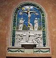 Benedetto buglioni, pala col miracolo di bolsena (1496) 01.JPG
